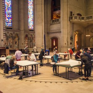Grace Cathedral Compassion Drawing Event
